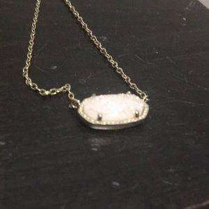 Iridescent drusy kendra scott necklace
